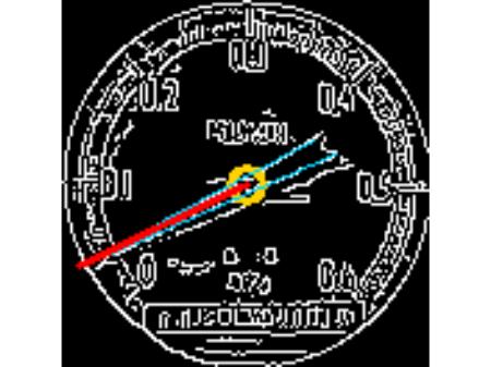 Analog meter auto-reading