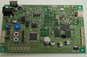 AC, brushless motor control board